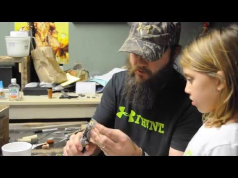 Building duck calls with the kids
