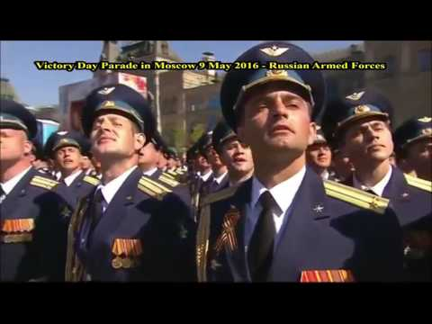 Victory Day Parade In Moscow 9 May 2016 Russian Armed Forces. 1080p HD