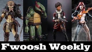 Weekly! figma Predator, NECA TMNT, Marvel Legends Venom, Bucky O'Hare, One:12 Joker, and more!