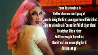 "Bonnie McKee - ""Bombastic"" (Lyrics on screen)"