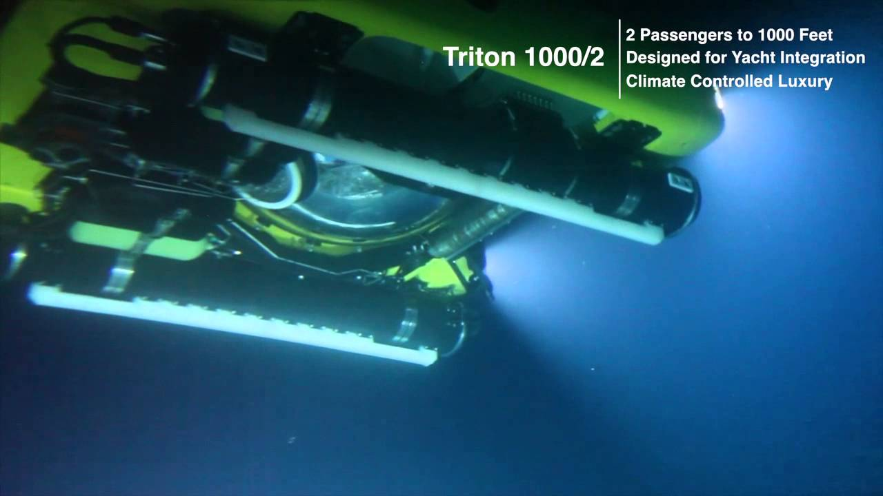 The Triton Submarine - The Submarine For The Explorers and Yachtsmen