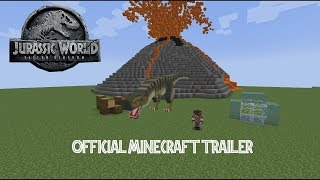 Jurassic World: Fallen Kingdom - Official Minecraft Trailer Español [HD]