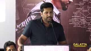 Jayam Ravi wishes Tharkaapu hero Shakthi
