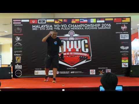 Malaysia Yoyo Championship 2016 Fingerspin Div Jacky Lee