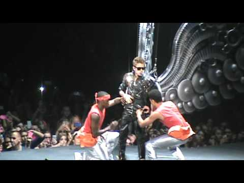 Justin Bieber - Opening / All Around the World - Believe Tour - Glendale, AZ