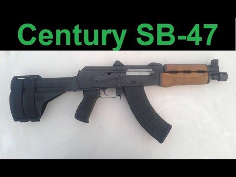 Zastava Pap M92 Safety Fail Part 2 / Century SB-47 Arm Brace