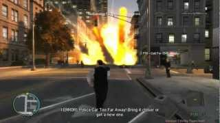 GTA IV Mod Gameplay:Police Pursuit Mod Version 7.6