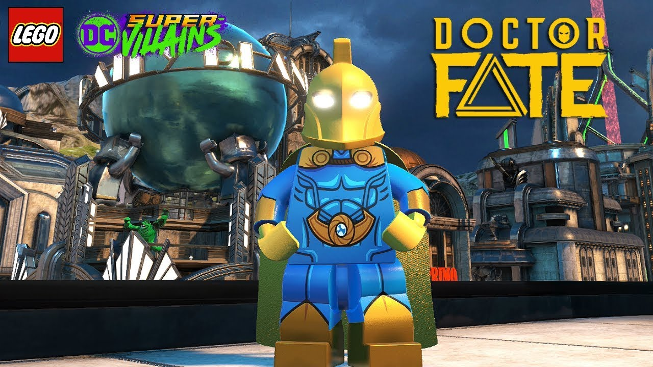 LEGO DC Super Villains Dr Fate Unlock + Free Roam Gameplay - YouTube