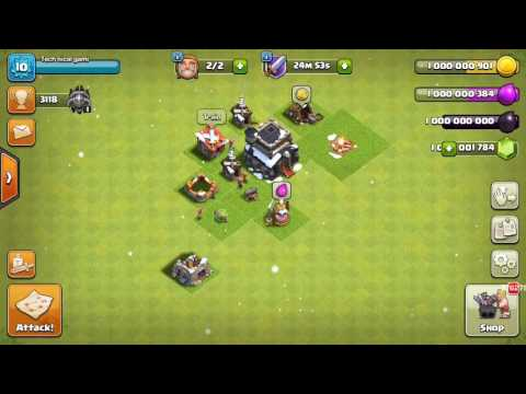 How to Hack clash of clans no root mega hack of 2017 everything unlimited (Hindi)