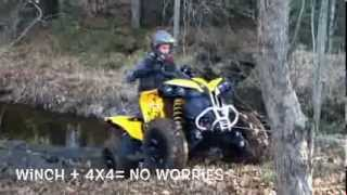 2014 Can-am Renegade 500 Day One demo!!!