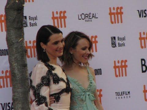 Actresses Rachel Weisz and Rachel McAdams at TIFF Movie Premiere