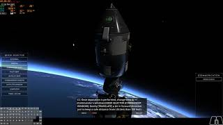 Reentry - An Orbital Simulator - Apollo - Academy 9 - Transposition and docking