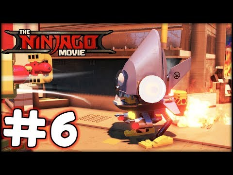LEGO Ninjago The Movie - Videogame - Part 6 - Rescue Mission! (Gameplay Walkthrough HD)
