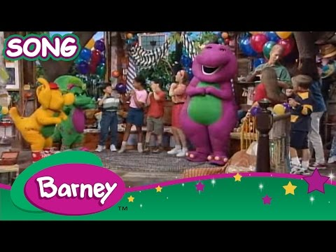 Barney - The Growing Up Song (SONG)
