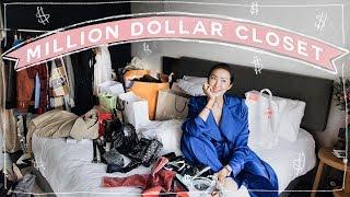 My Million Dollar Fashion Week Closet 🤑   Chriselle Lim thumbnail
