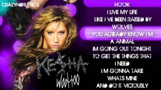Ke$ha - Woo Hoo (Clean) [Lyric Video]