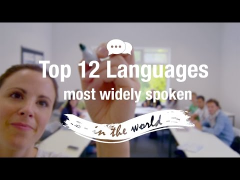 Top 12 Languages in the World
