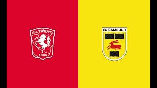 HIGHLIGHTS | FC Twente - SC Cambuur Leeuwarden