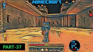 MINECRAFT GAMEPLAY | WE ARE WORKING HARD ON OUR CASTLE AND IT WILL BE AWESOME#37