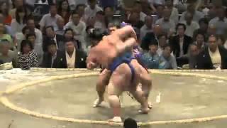 平成25年秋場所日目 栃煌山完勝 sumo 大相撲.
