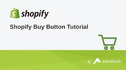 Shopify Buy Button Tutorial
