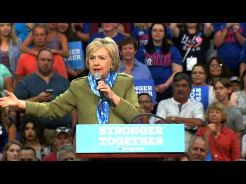 Hillary Rodham Clinton 8-2016 Colorado speech highlights, Nick, Mister Photon Media