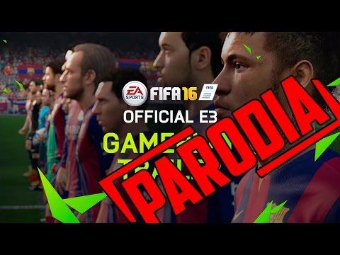 FIFA 16 - Trailer Oficial (PARODIA) - HD