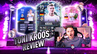 Longshot King 👑 Toni Kroos 93 Flashback 🔥 Player Review FIFA 21
