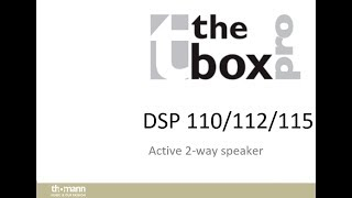 The Box PRO DSP 112 --- UNBOXING