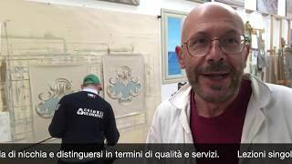 workshop trompe l'oeil base per decoratori e decoratirici