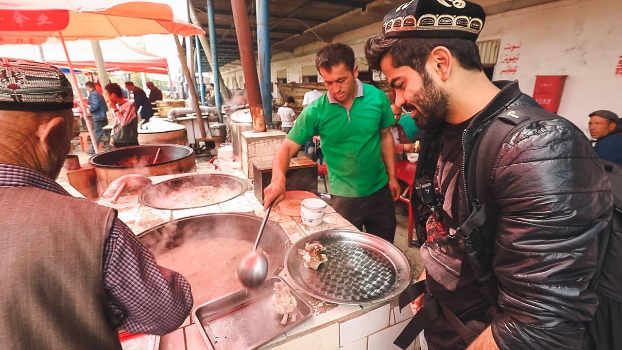 أكل الشوارع في الصين - منطقة المسلمين (الايغور) - BEST Halal Food