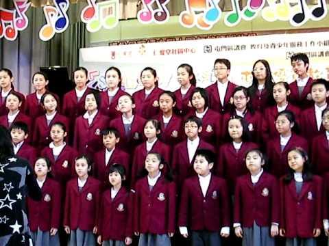 屯門優質教育城 - 2010小學英文歌唱比賽〈合唱冠軍:鄭任安夫人千禧小學〉 - YouTube