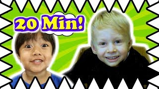 I MAILED MYSELF To Ryan ToysReview And It WORKED! Compilation Skit Sebastian Toy Review