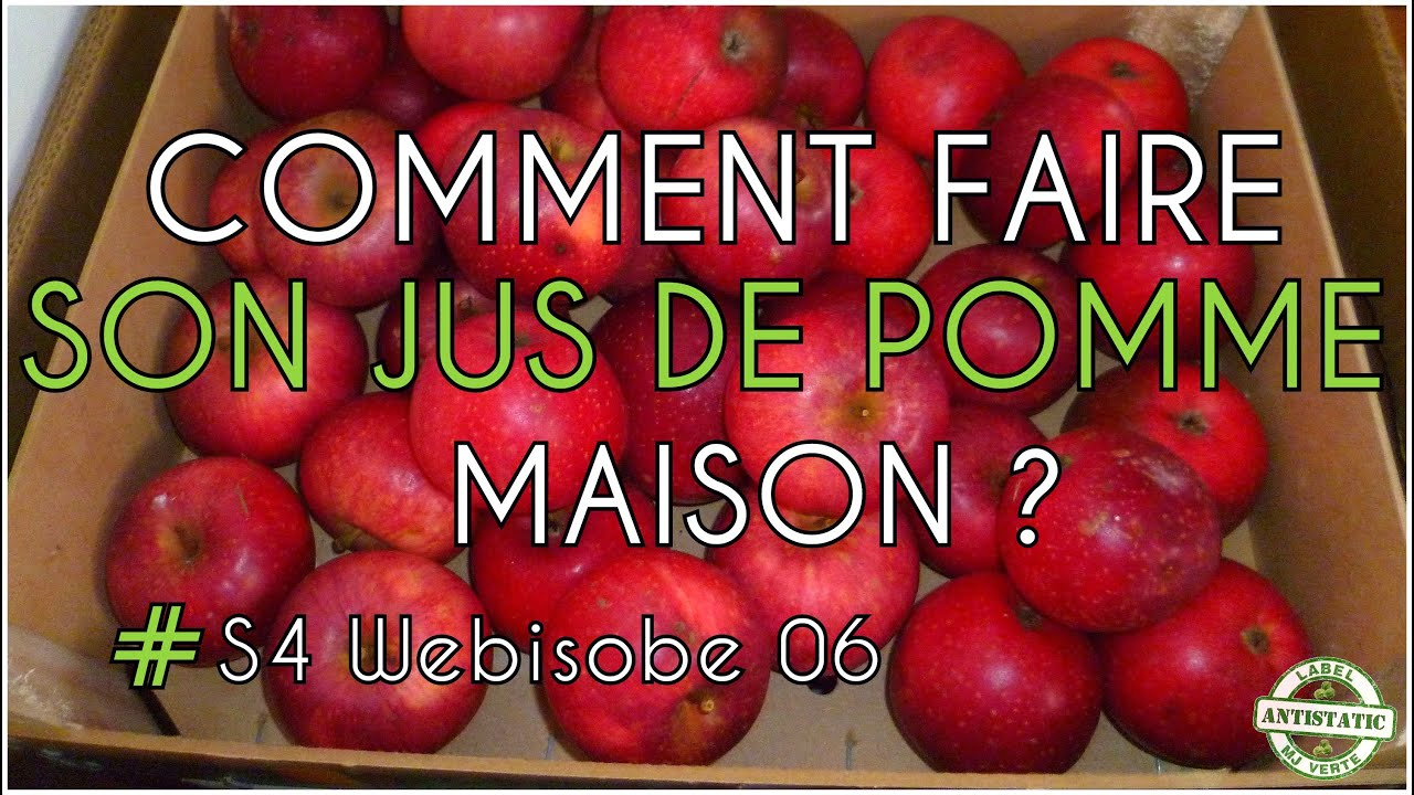 comment faire son jus de pomme maison antistatic s4eo5 labelmjverte youtube. Black Bedroom Furniture Sets. Home Design Ideas