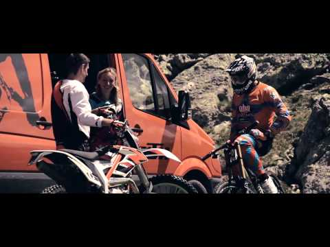 Marcus Klausmann is DRIVEN - Getting 2 know the KTM FREERIDE 350