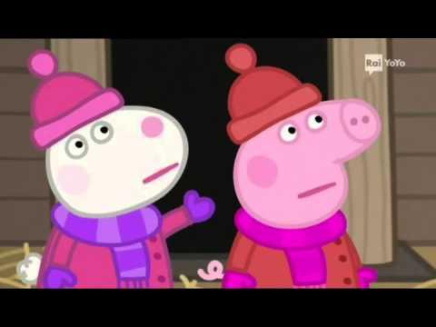 Peppa Pig Natale.Peppa Pig 3x38 La Capanna Di Babbo Natale Youtube