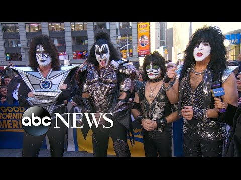 KISS stops by 'GMA'