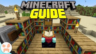 Enchanting Basics! | Minecraft Guide Episode 9 (Minecraft 1.15.1 Lets Play)
