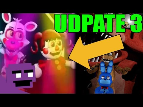 FNAF WORLD SISTER LOCATION UPDATE 3!!! - PREDICTIONS + THEORIES! - FNAF WORLD LIVE  2.0