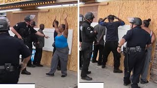 L.A. STORE GOOD SAMARITANS CUFFED AND DETAINED ... For Protecting Local Business