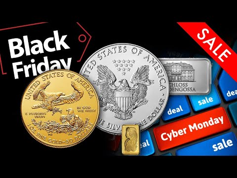 A Message About Black Friday & Cyber Monday Coin & Bullion Deals