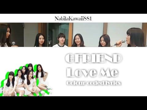 [Live Cover] GFriend - Love Me ( 정준영의 심심타파 20150129  ) | Lyric Video