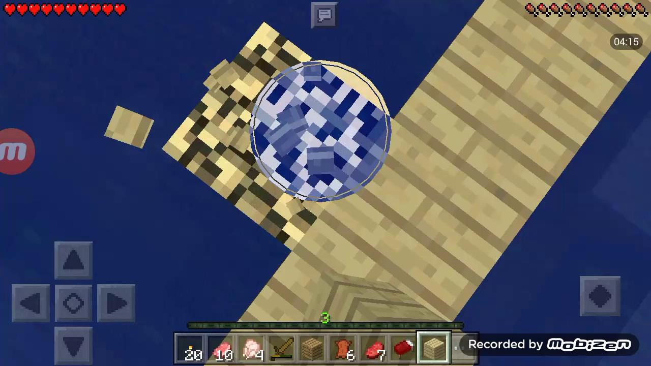 survival noobtopro 1 bikin kerangka rumah di air youtube