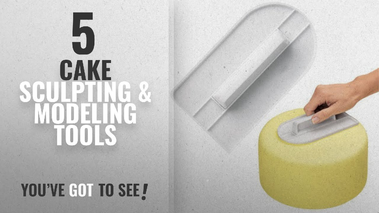 Top 10 Cake Sculpting & Modeling Tools [2018]: Fondant Smoothing Tool Cake  Decorate Smoother