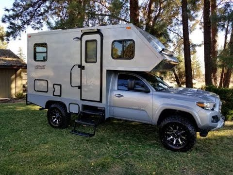 2016 Toyota Tacoma Motorhome Bend Oregon Youtube
