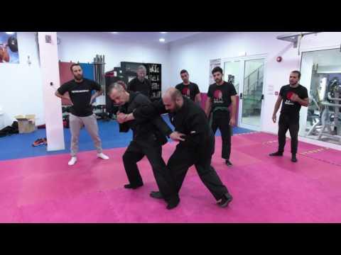 Sensei Michael Efstathiou visits Nicosia Dojo (Panic Team) with Panikos Kadis