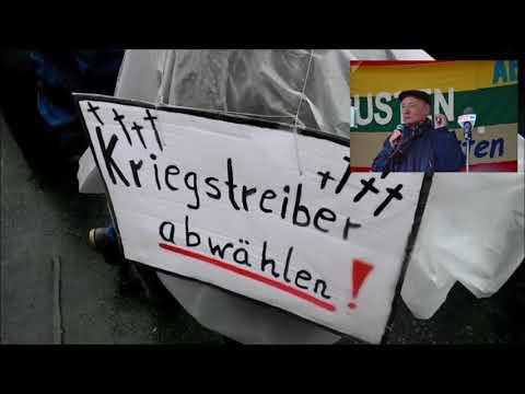 Berliner Ostermarsch 2018 - Rede von Eugen Drewermann (antikriegTV)