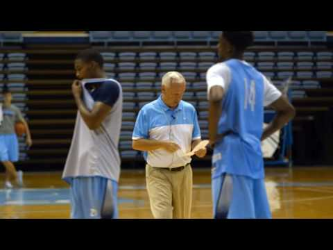 Carolina Basketball: Coach Williams Mic'd Up at 1st Practice - Part 2