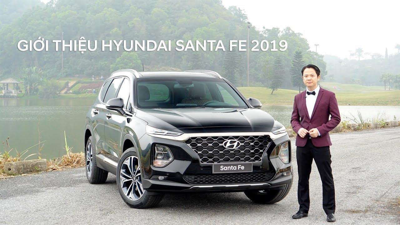 Giới thiệu xe tải Hyundai SantaFe của Hyundai Thành Công