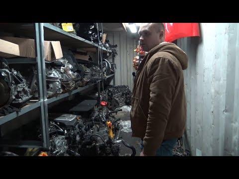 Как выглядит сервис в Москве в котором делали мотор от Каена.